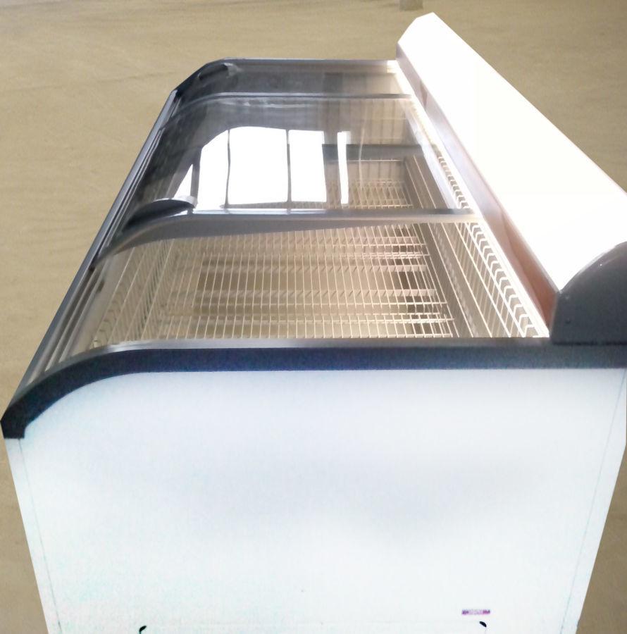 Фото - Морозильный ларь бу с гнутым стеклом АНТ Paris 250 от 1000 л