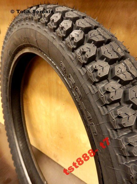 Фото 4 - Резина,скат,шина,покрышка ЯВА/JAWA MITAS-МИТАС [R-18,16] Made in Чехия