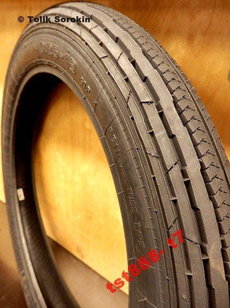 Фото 3 - Резина,скат,шина,покрышка ЯВА/JAWA MITAS-МИТАС [R-18,16] Made in Чехия