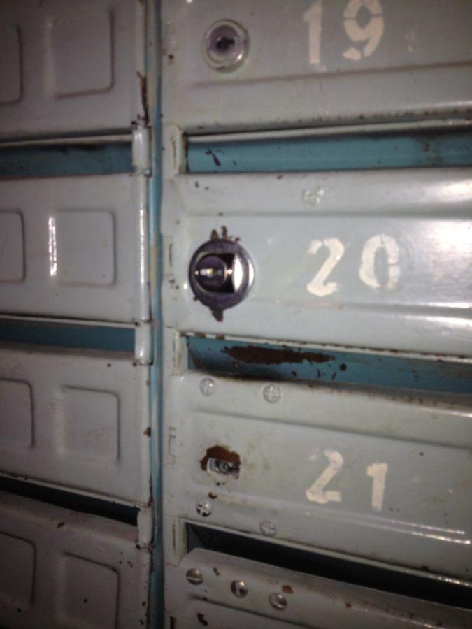 Фото 4 - Установка замка на почтовый ящик Киев