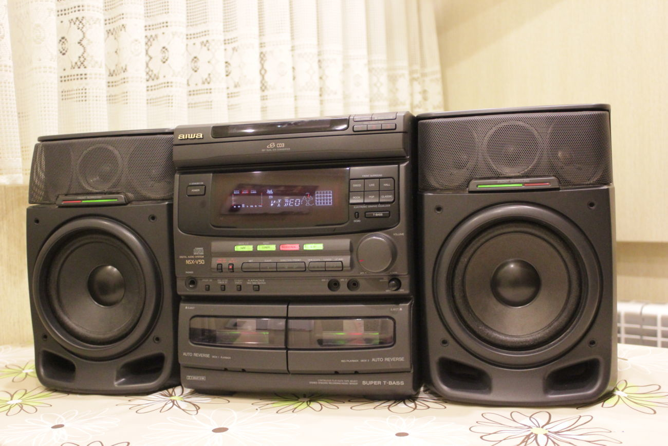 Фото 3 - Продам муз.центр AIWA NSX-V50 Karaoke 3D Sound 120W AUX Made in Japan