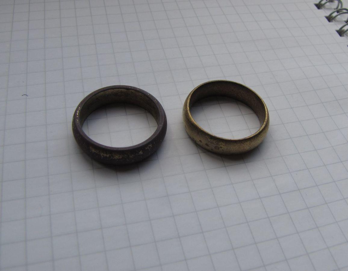 Фото 2 - 2 царских обручальных кольца: позолота, клеймо