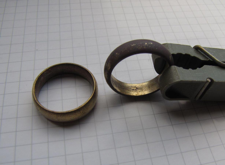 Фото 3 - 2 царских обручальных кольца: позолота, клеймо