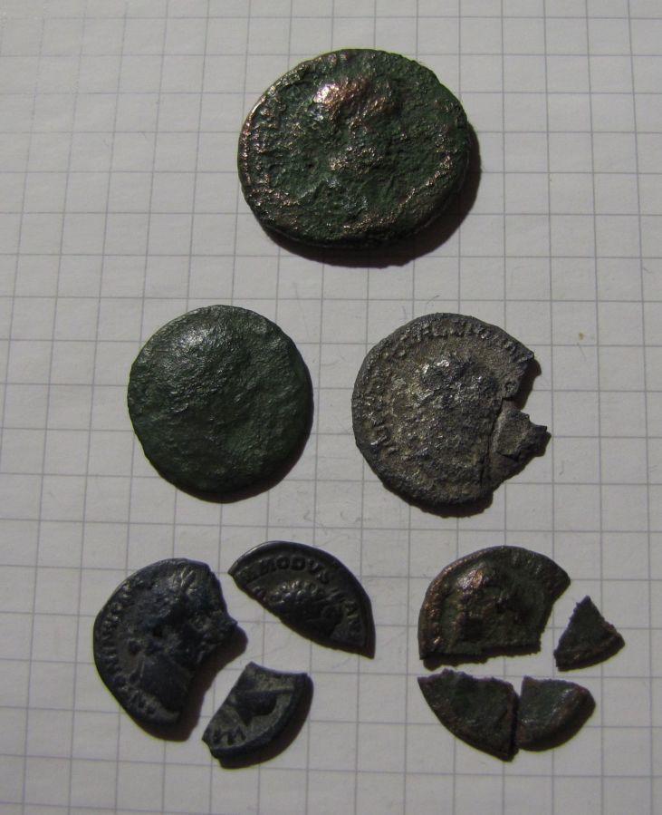 Подборка монет Древнего Рима: имп. Гордиан III и другие монеты