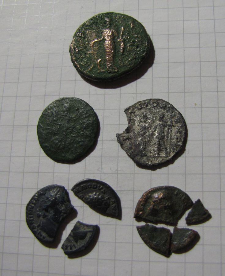 Фото 2 - Подборка монет Древнего Рима: имп. Гордиан III и другие монеты