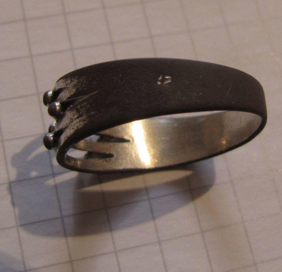 Фото 8 - Старинное кольцо (19 век), есть 2 клейма