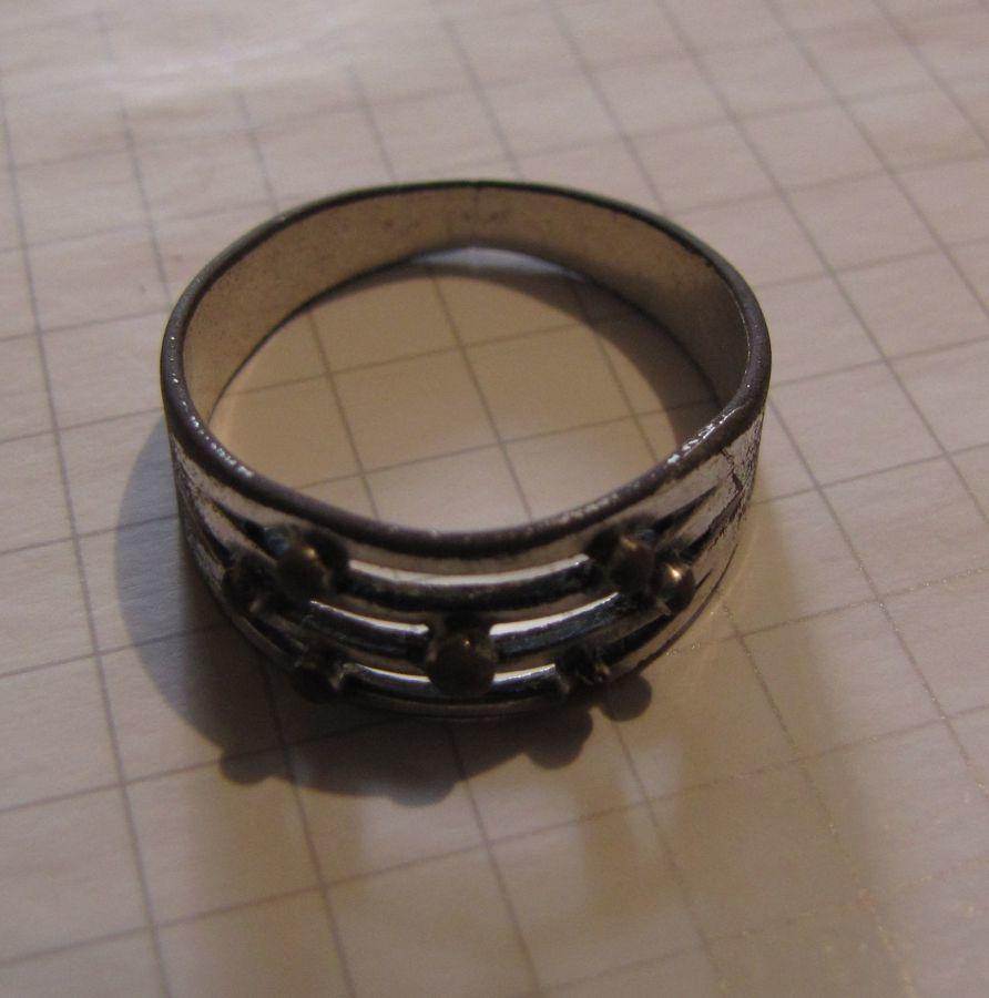 Фото 2 - Старинное кольцо (19 век), есть 2 клейма