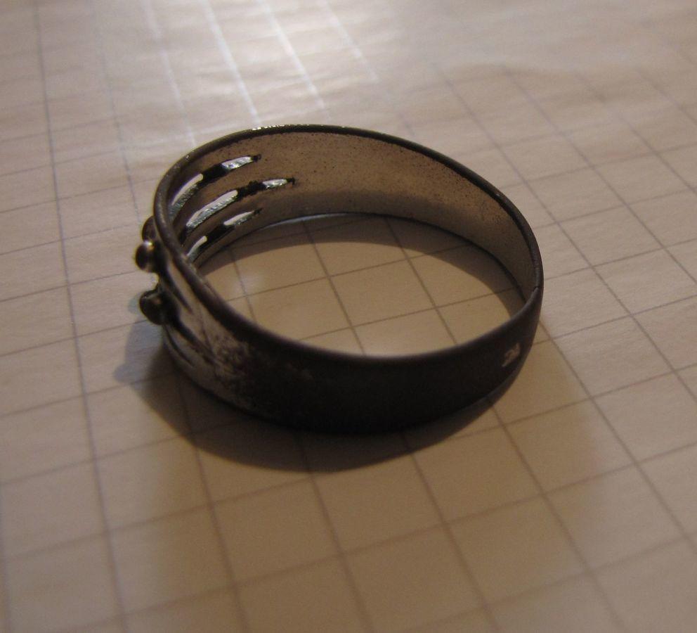 Фото 4 - Старинное кольцо (19 век), есть 2 клейма
