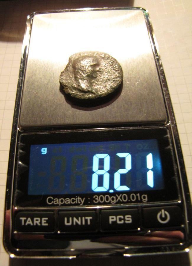 Фото - Большая монета Древнего Рима: двухпортретник императора Веспасиана