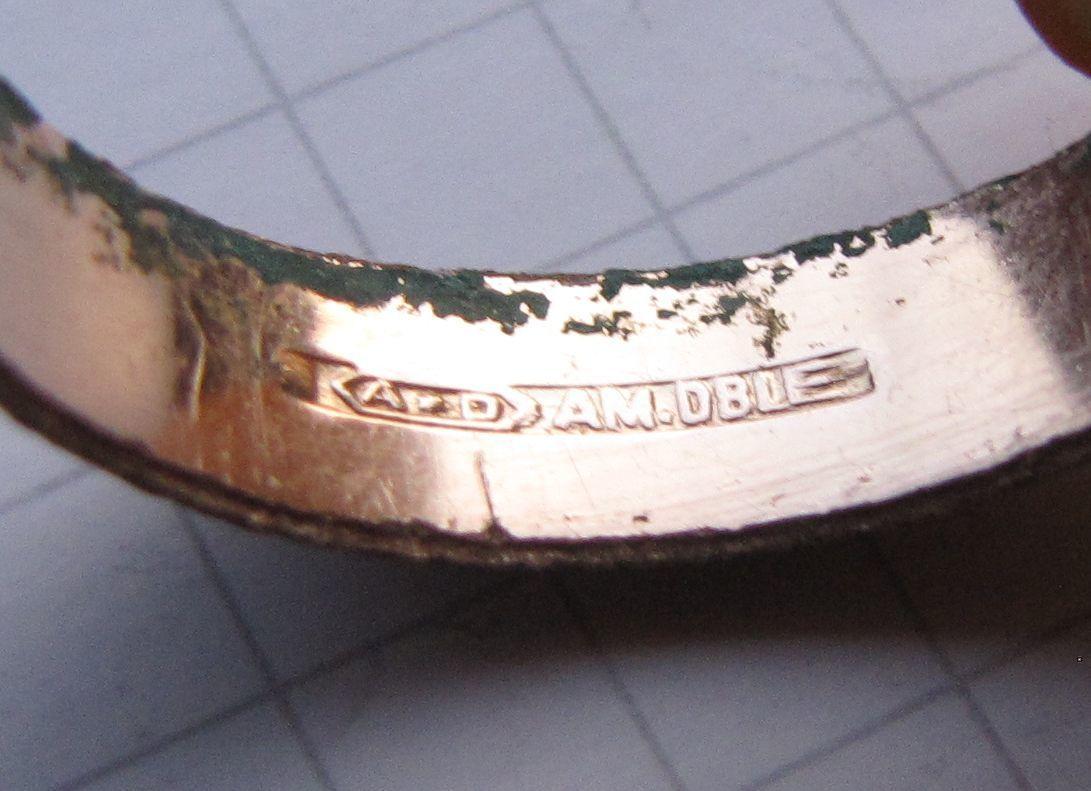 Фото 6 - Советское обручальное кольцо + бонус (другое кольцо с позолотой и к