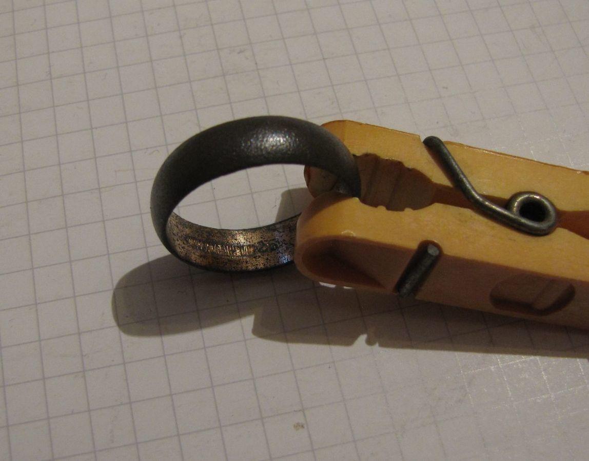 Фото 5 - Обручальное кольцо + бонус (другое кольцо с позолотой и клеймом)