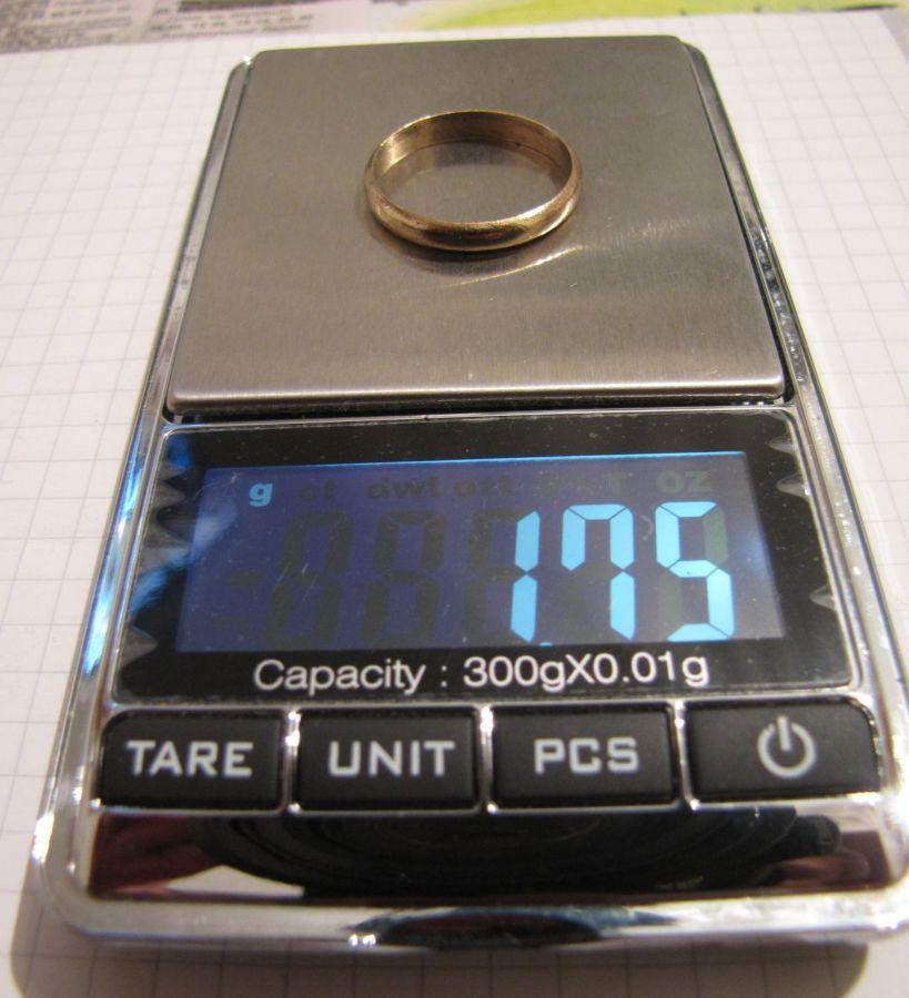 Фото 6 - Обручальное кольцо + бонус (другое кольцо с позолотой и клеймом)