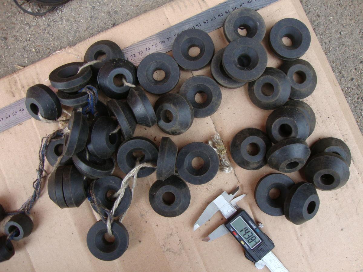 Фото - Втулки резиновые ГАЗ,ВАЗ,УАЗ
