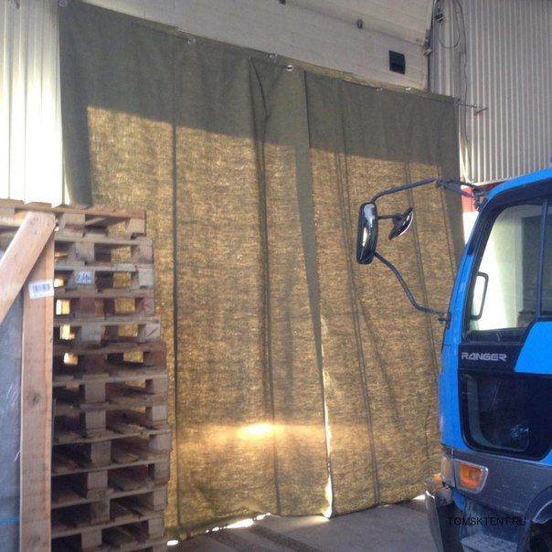 Фото 2 - Брезентовые шторы - склад,гараж,СТО,ферма