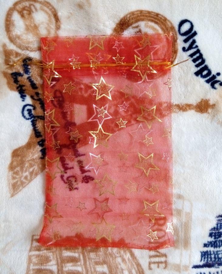 Фото 2 - Новый подарочный мешочек из органзы
