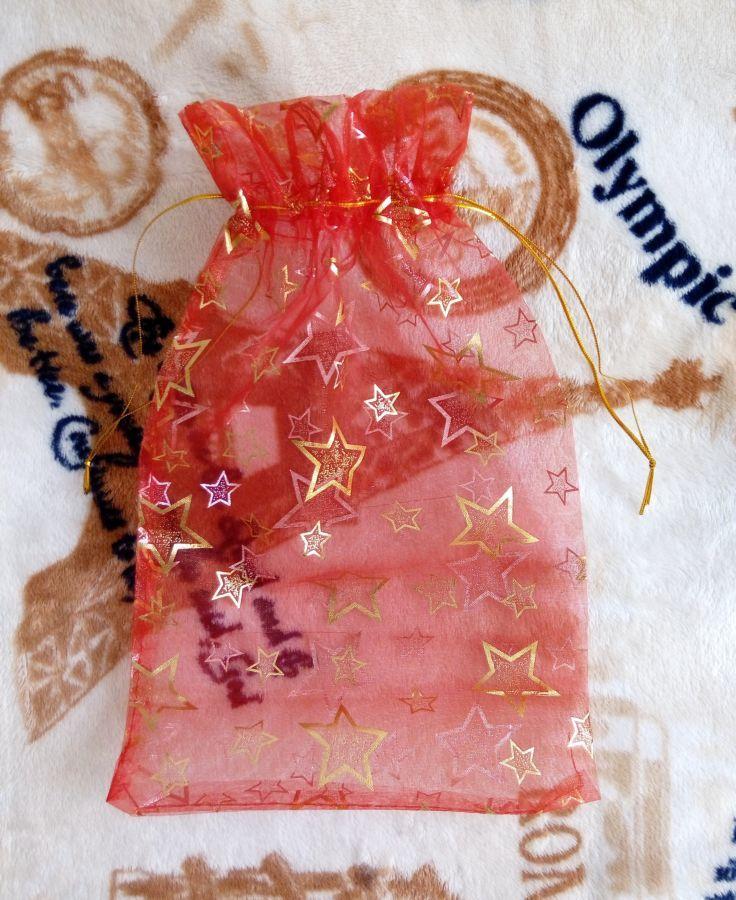 Фото - Новый подарочный мешочек из органзы