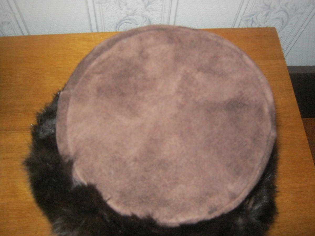 Фото 5 - Новая шапка-ушанка ( не обманка) из замши и кролика