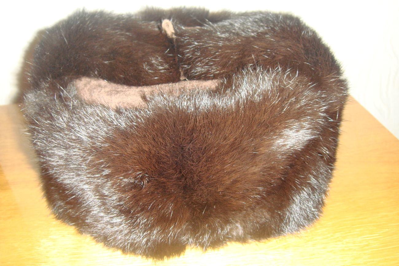 Фото - Новая шапка-ушанка ( не обманка) из замши и кролика