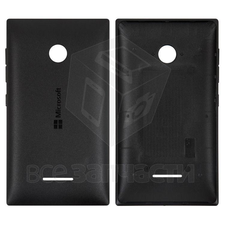 Фото - Задняя панель корпусаt Nokia 532 Lumia, черная, с боковыми кнопками