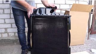 Фото - Радиатор вод.охлажд. МТЗ-80, 82 (70П-1301.010) с двигателем Д-240....