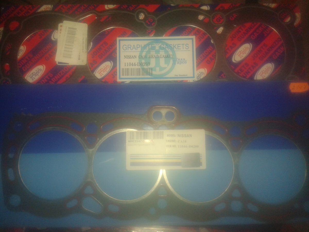 Фото - Прокладка головки блока Nissan bluebird блюберд CA16,CA18,CA20,LD20