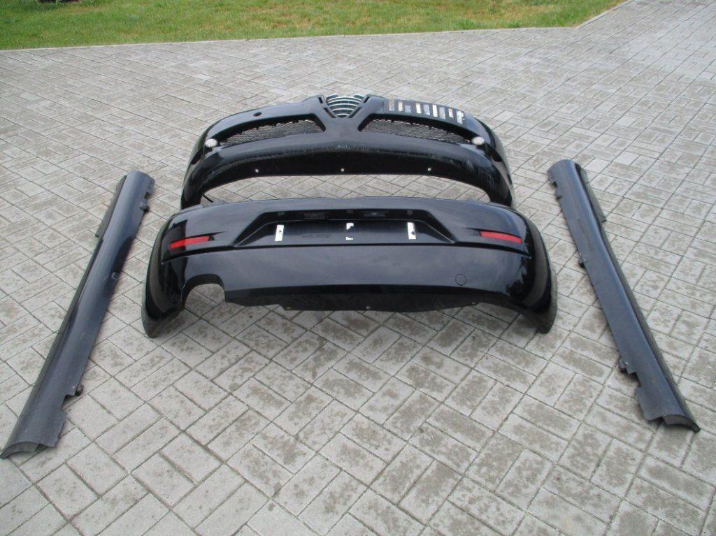 Фото 3 - Alfa Romeo 147 Бампер Разборка Крышка багажника Пороги Зеркало Четверт