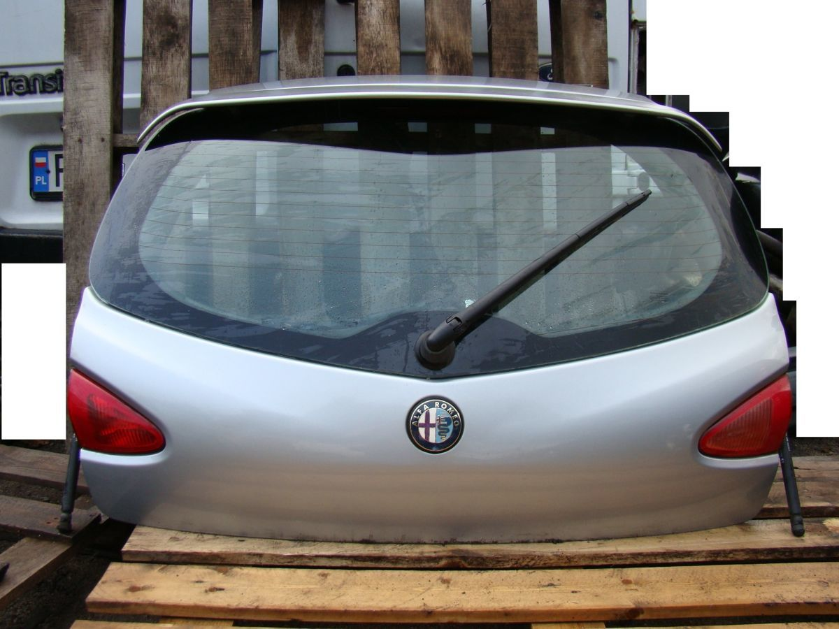 Фото 2 - Alfa Romeo 147 Бампер Разборка Крышка багажника Пороги Зеркало Четверт