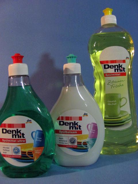 Фото 8 - Средство для прочистки труб Denkmit Rohrreiniger 1л.Германия.