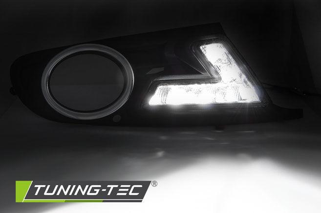 Фото 2 - Рамки противотуманных фар  VW GOLF 6 LED BLACK (HAVW07)