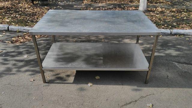 Фото 3 - Продам металлические столы из нержавеющей стали бу