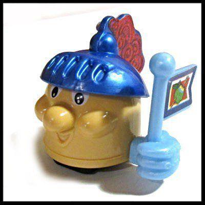 Фото - Киндер игрушки. Голова на колесах