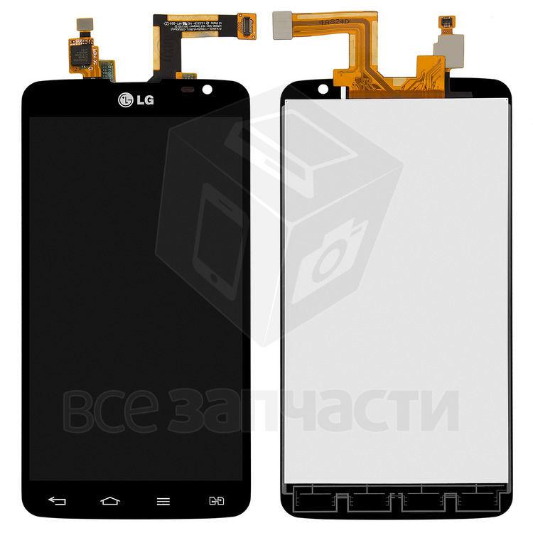 Фото - Дисплейный модуль LG D686 G Pro Lite Dual, черный,