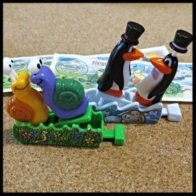 Фото - Киндер. Пингвины и улитки.