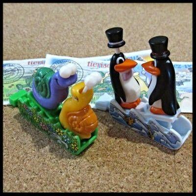 Фото 2 - Киндер. Пингвины и улитки.
