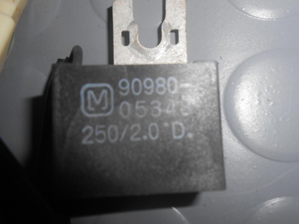 Фото 2 - Конденсатор подавления радиопомех (9098005348) TOYOTA Rav4 (A20) 00-05