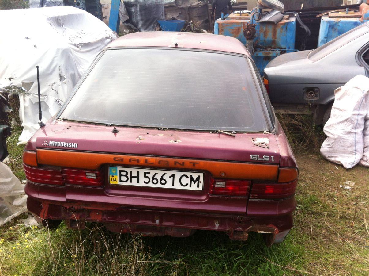Фото 3 - Разборка  Mitsubishi Galant 1987—1993 2.0i.