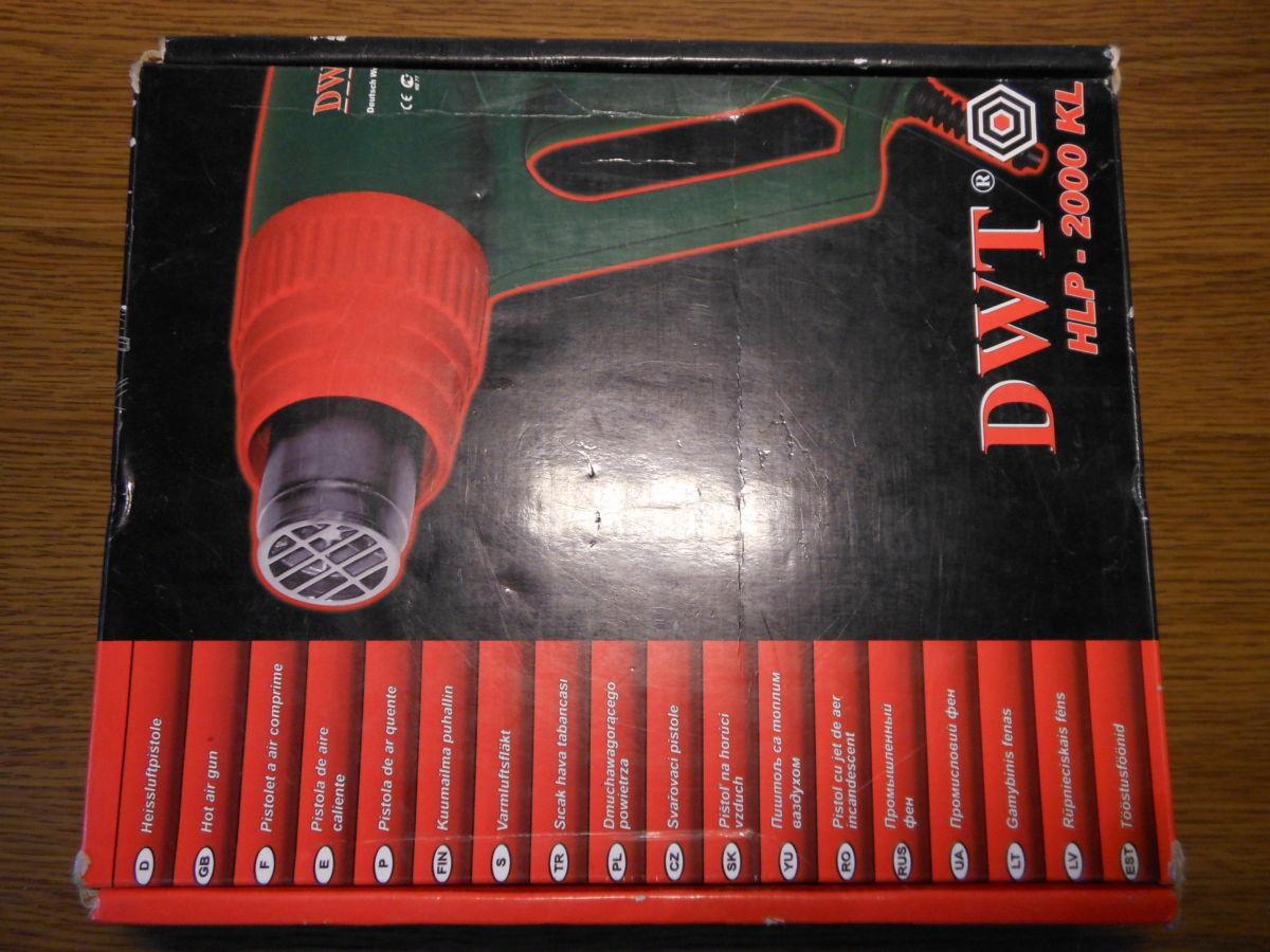 Фото 4 - Продам фен технический DWT HLP 2000 KL, б.у.