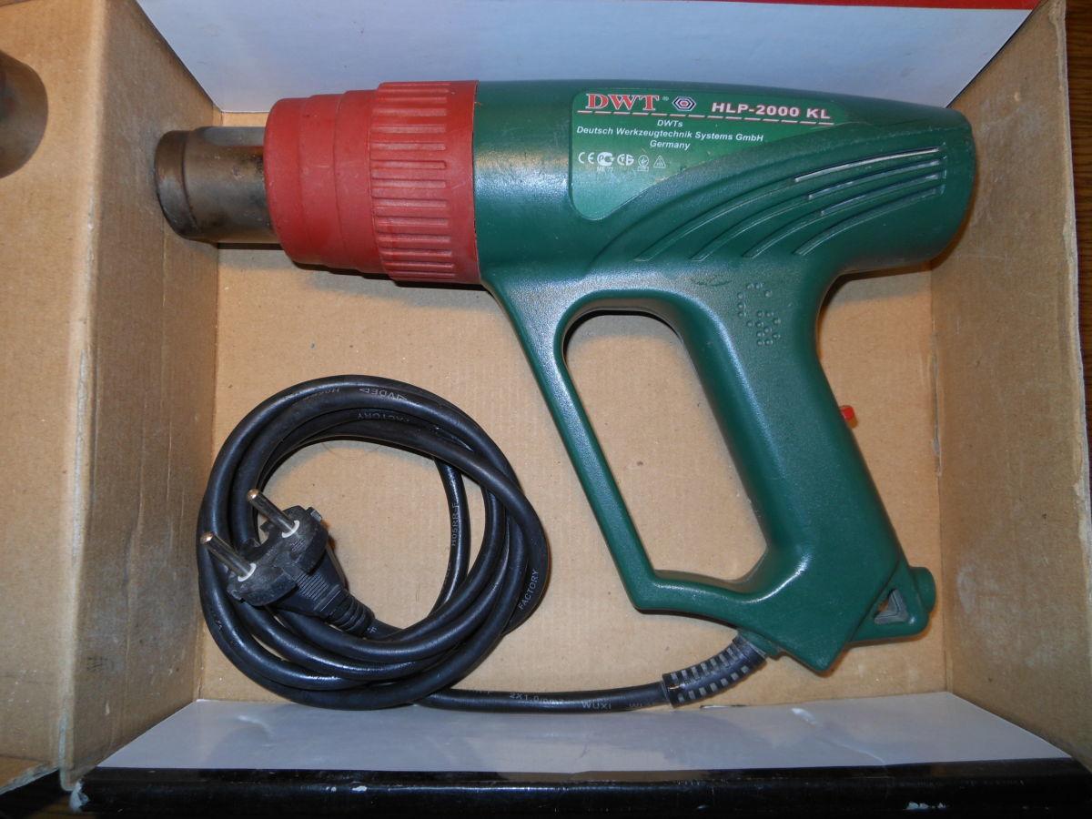 Фото - Продам фен технический DWT HLP 2000 KL, б.у.