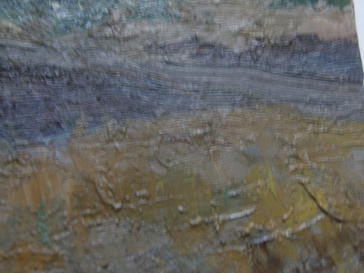 Фото 3 - Река Вятки 1981г. картон масло