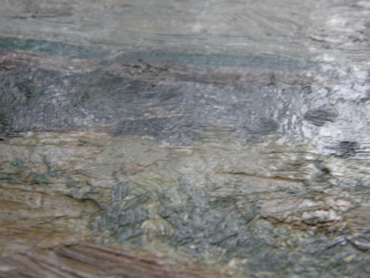 Фото 4 - Река Вятки 1981г. картон масло