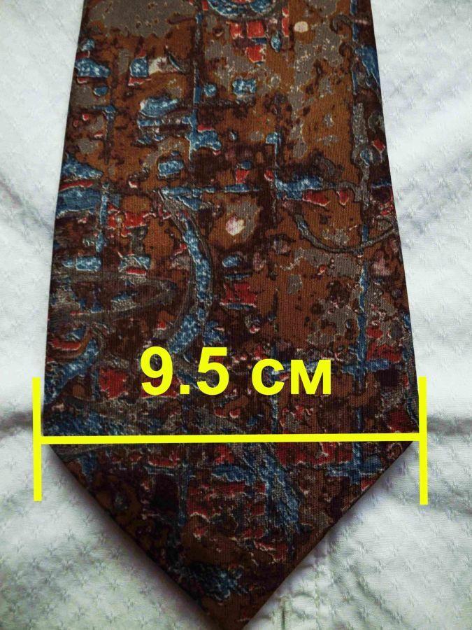 Фото 5 - Мужской галстук с узорами Folkespeare Britain