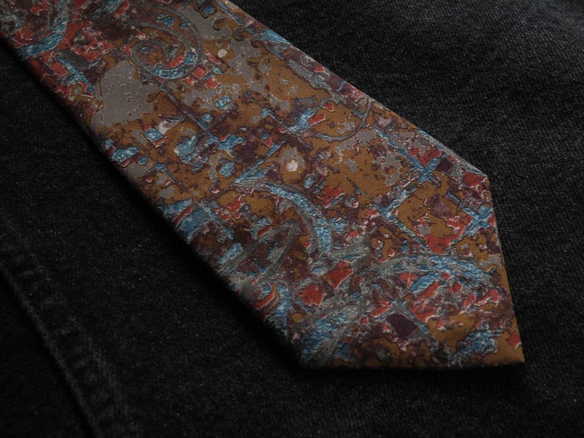 Фото - Мужской галстук с узорами Folkespeare Britain