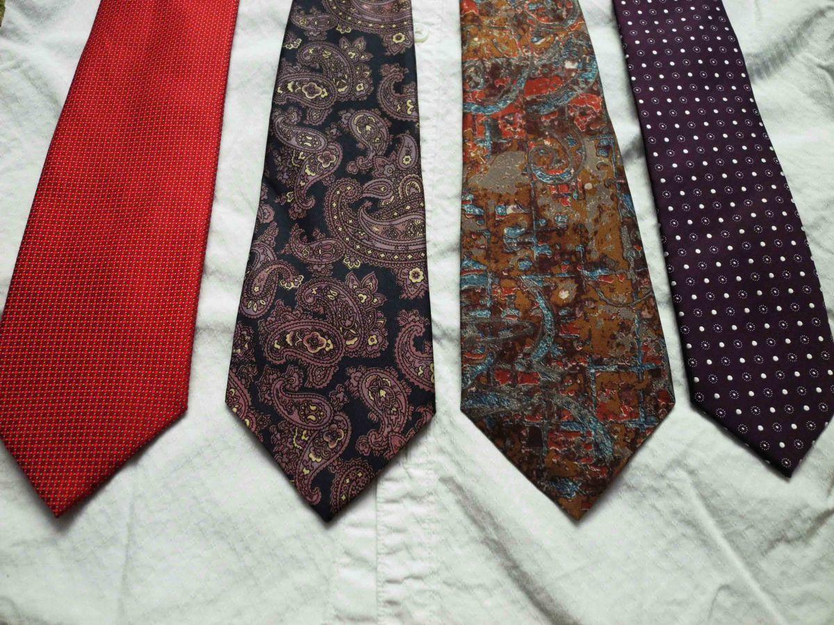 Фото 6 - Мужской галстук с узорами Folkespeare Britain
