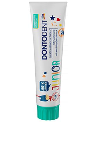Фото - Зубная паста детская Dontodent junior от 6 лет 100 мл