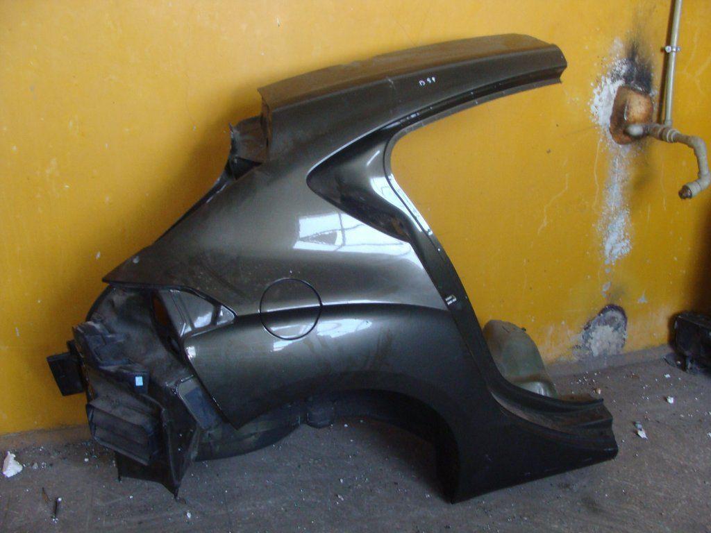 Фото 3 - Citroen DS4 Разборка Бампер Крышка багажника Фонарь Четверт Стоп Дверь