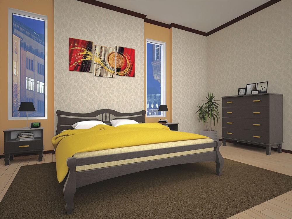 Фото - Деревянная кровать Корона