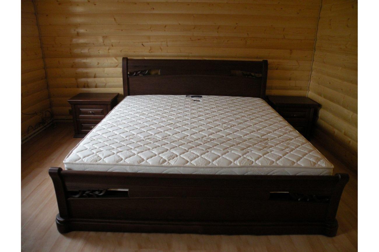 Фото - Деревянная кровать Шопен