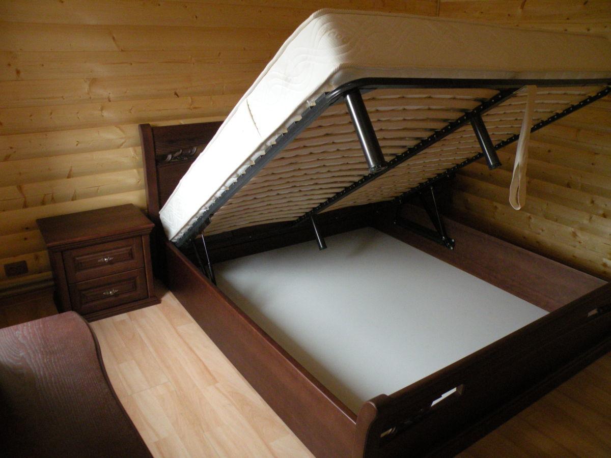 Фото 2 - Деревянная кровать Шопен