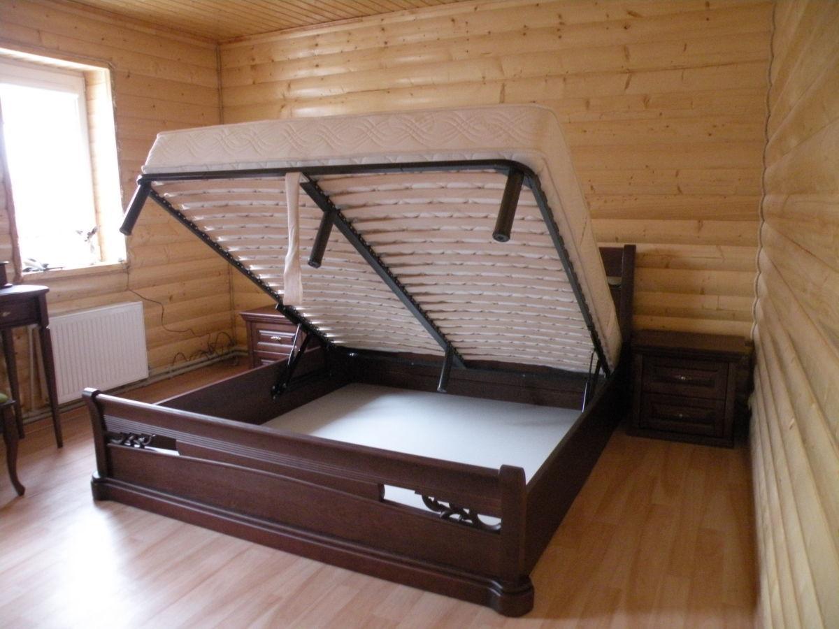 Фото 3 - Деревянная кровать Шопен