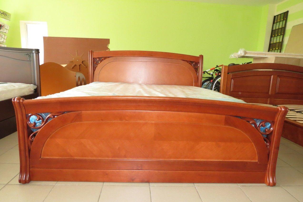 Фото 3 - Деревянная кровать Лексус